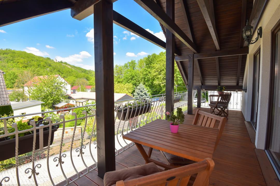 Hotel garni Möller, Bad Sulza, gemütliche Zimmer
